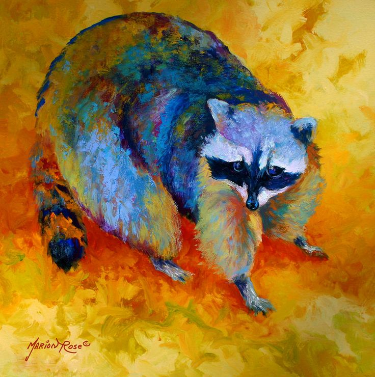 Coon Painting Marion Rose
