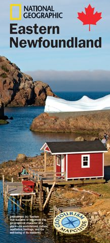 Free National Geographic Travel Map of Eastern Newfoundland - Maps for the Newfoundland Traveller