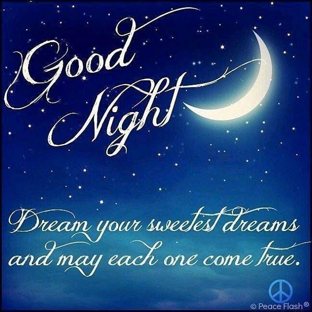 Good night my awesome friends sleep well dream big as tomorrow ...