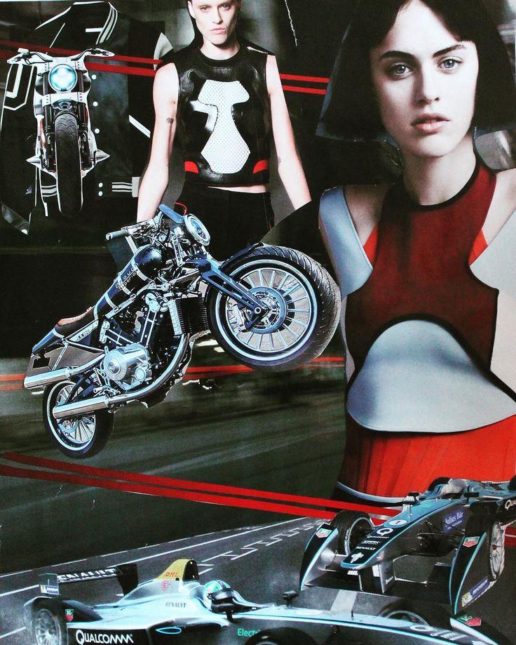 Коллаж спорт. 2015г #коллаж #тренд #pinterest #trend #collage #sport #motorcycle #speed #скорость #мото