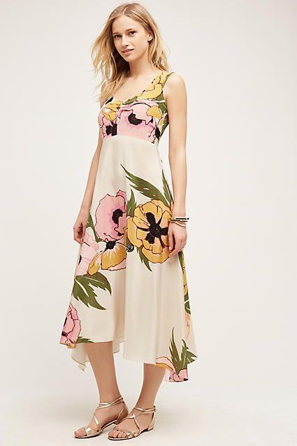 Viola colored dresses