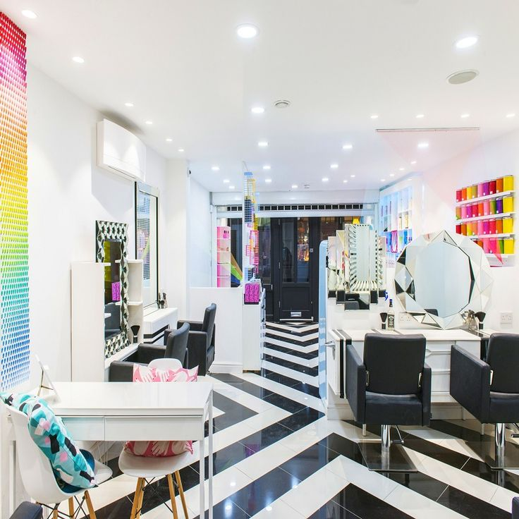 the hair and beauty industry by its very nature is all about salon decorating ideas - Beauty Salon Design Ideas