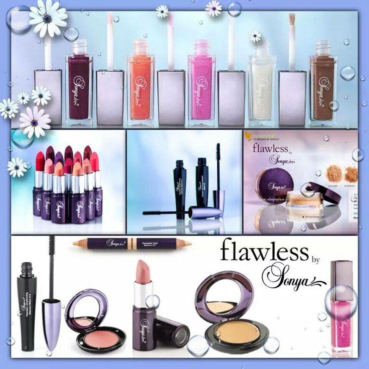Flawless by Sonya. Make up range to make you look amazing!! www.aloeandyou.flp.com