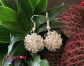 Boucles d'oreilles perle en fil de fer : Boucles d'oreille par creations-laurie http://creations-laurie.alittlemarket.com
