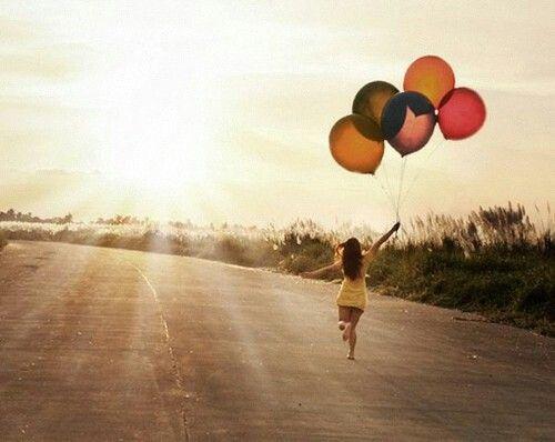 #sunshine #balloons #smiles #happiness #carefree