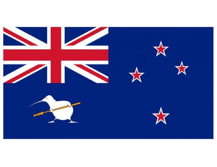 Los mejores/peores diseños para la nueva bandera de Nueva Zelanda