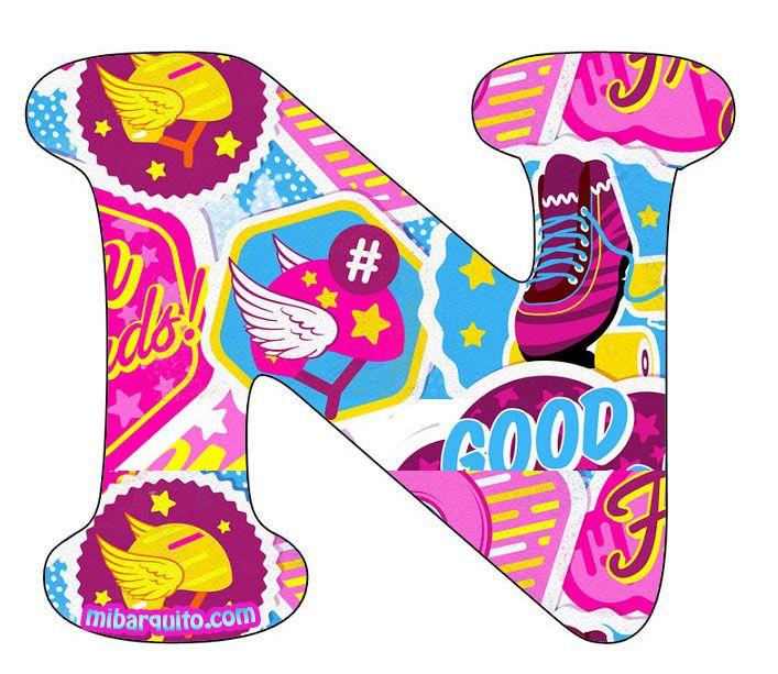 Best 25 letras para descargar ideas on pinterest - Letras infantiles para decorar ...