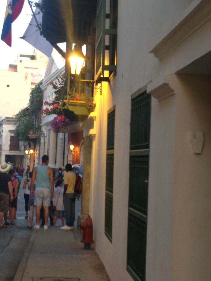 The old city of Cartagena and to think my husband and I walked through these streets of history.. Truly a remarkable experience
