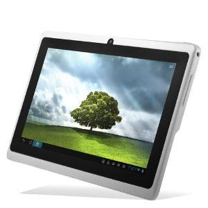 """Chromo Inc® White 4GB 7"""" Android 4.0 Touch Capacitive Screen 1.2ghz 512MB RAM, 4GB Hard Drive Tablet Pc Wifi 3g Camera"""