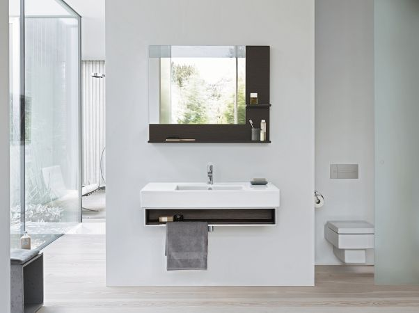 Photo Image Wall mounted vanity unit Single vanity unit Vero Collection by DURAVIT Italia