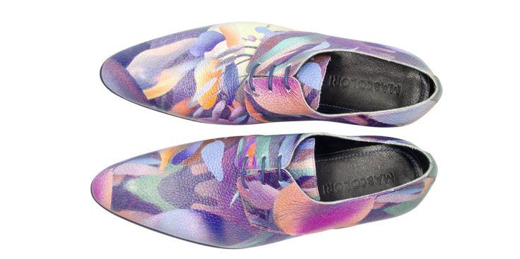Down The Rabbit Hole stoere leren schoenen van Mascolori  Description: Buitenkant: leer Binnenkant: leer Binnenzool: leer Zool: rubber doorgestikt Breedtemaat: G/H (gemiddeld)  Price: 249.00  Meer informatie  #Mascolori
