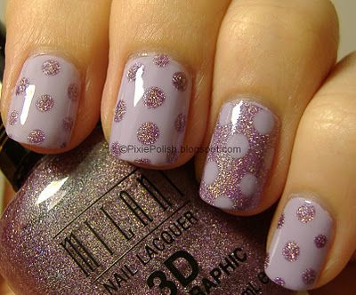 @Mette Christensen Nielson - Do you think you could do something like this??  Pastel Purple Polkadots