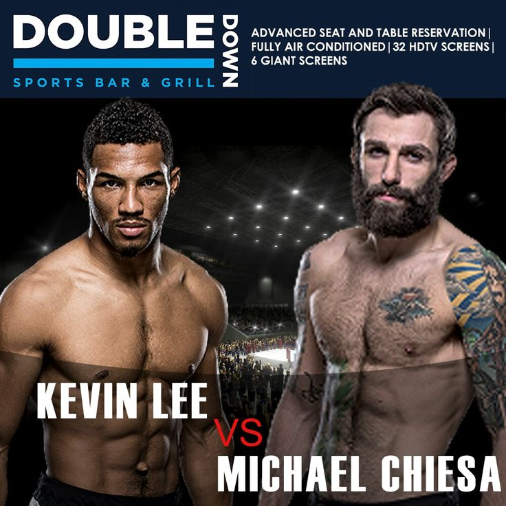 fight nights at double down sports bar grill after the success of ufc 205 206 and 207 the company has opened 2017 on a bit of a down note