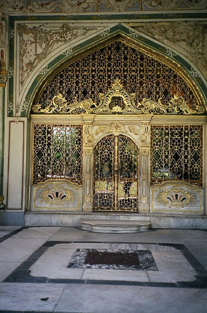 I love architecture like this  Entrance to Imperial Council Chambers, Topkapi Palace