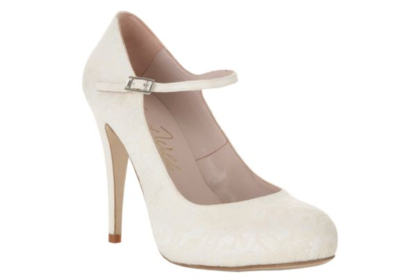 Bridal shoes from Harriet Wilde