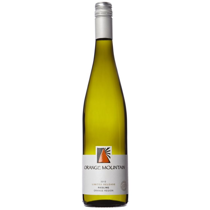 Orange Mountain, my favourite Riesling makers in Orange. Their 2012 as pictured above - so good, so fresh, sold out now and I miss it. Now h...