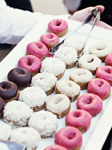 Donut Bar!!! Still kicking myself for not doing that at our wedding