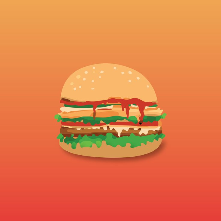 An Amazing Vector Art of Burger
