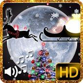 LIVE WALLPAPER CHRISTMAS  CHRISTMAS LIVE WALLPAPER MERRY CHRISTMAS LIVE WALLPAPER SNOW SNOWFALL FESTIVAL SANTA HOLIDAY WINTER CUT OUT SNOWMAN CHRISTMAS TREE SNOWFLAKES SCENERY ANIMATED
