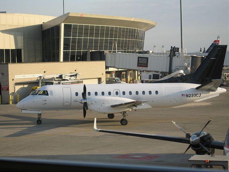ColganAirSaab340B - Saab 340 – Wikipédia, a enciclopédia livre