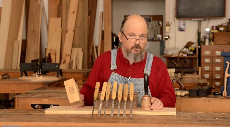 Bill Anderson explains how to buy and use wood carving gouges & mallets to get started in carving furniture in traditional woodworking. See the accompanying ...
