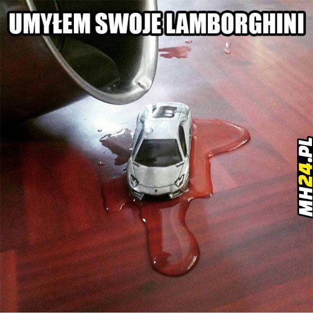 Umyłem swoje Lamborghini