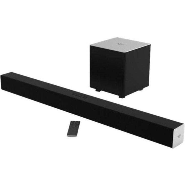 VIZIO SB3831-D0 Portable Wireless Sound Bar Speaker - Surround Sound Dolby Digital DTS - Bluetooth - Wireless Audio Stream - Black
