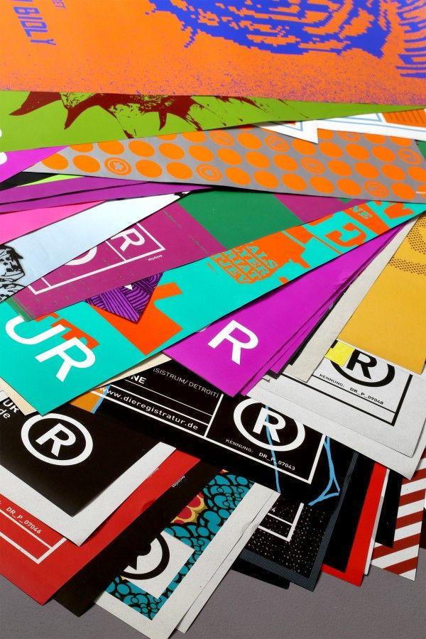 Plakate - Eigenveranstaltungen | Die Registratur