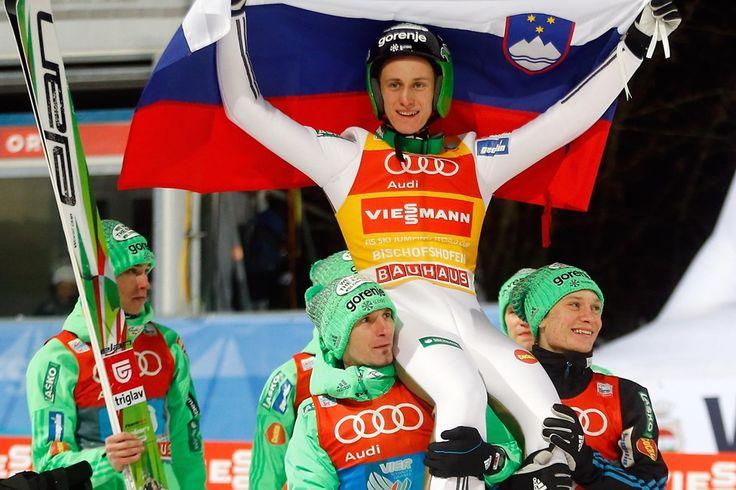 Prevc je z veličastno zmago prekinil sedemmetno avstrijsko zgodovino na turneji. #planetsiolnet