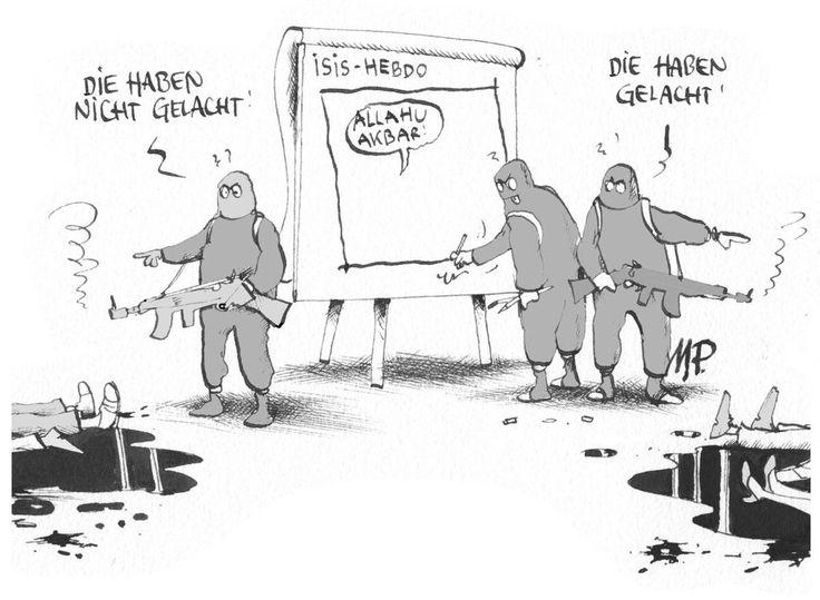#Pammesberger: Dschihad-Cartoonistengruppe #JeSuisCharlie (9.1.2015)
