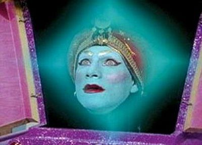 "Jambi from Pee-Wee's Playhouse ""Mecca lecca hi, mecca hiney ho"""