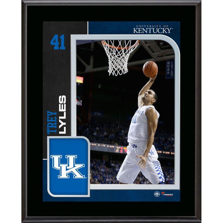"Trey Lyles Kentucky Wildcats Fanatics Authentic 10.5"" x 13"" Sublimated Player Plaque - $29.99"
