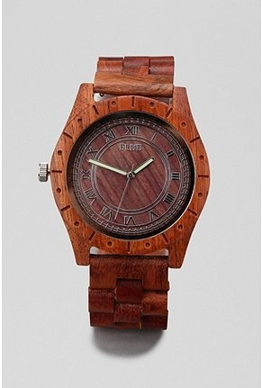 Wooden Watch, curated by www.mondouomo.com