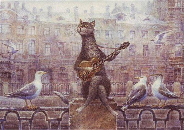 St. Petersburg cats Vladimir Rumyantsev