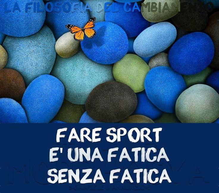 Pillole di Benessere #10...  #Metamorphosya #GabrieleD_Annunzio #sport #viverebene #benessere #salute #integrazione #lafilosofiadelcambiamento #pilloledibenessere