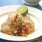Swordfish with fresh nectarine relish @ allrecipes.com.au