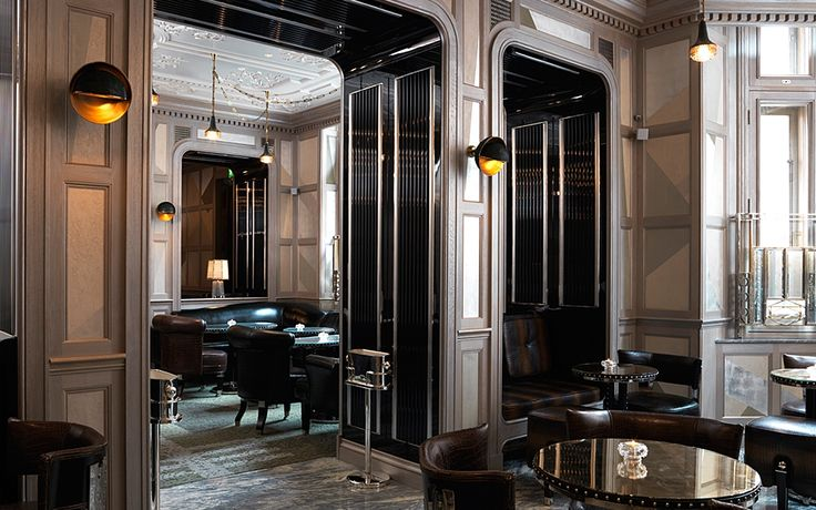 The Connaught Bar, The Connaught London| Luxury Restaurant Interior Design