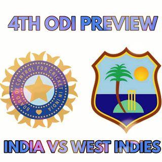 bluecricketin.com: india vs west indies next match preview 2017 4th o...