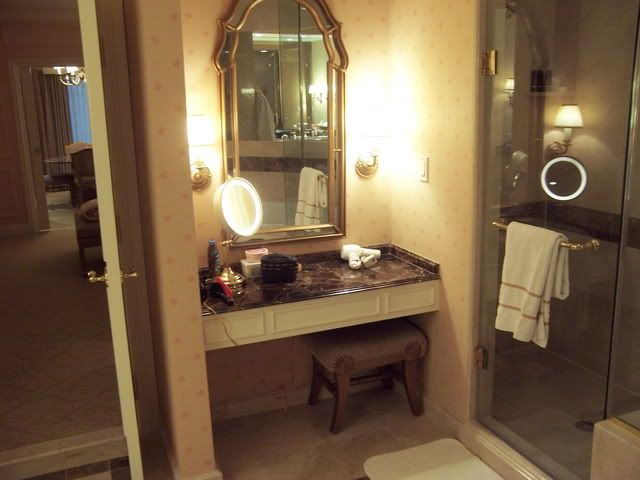 Wonderful Built In Make Up Vanity  Transitional  Bathroom  John B Murray