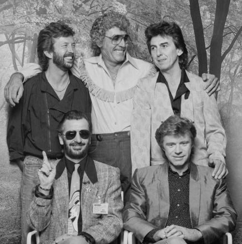 Carl Perkins and Friends: Eric Clapton, Carl Perkins, George, Ringo & Dave Edmunds