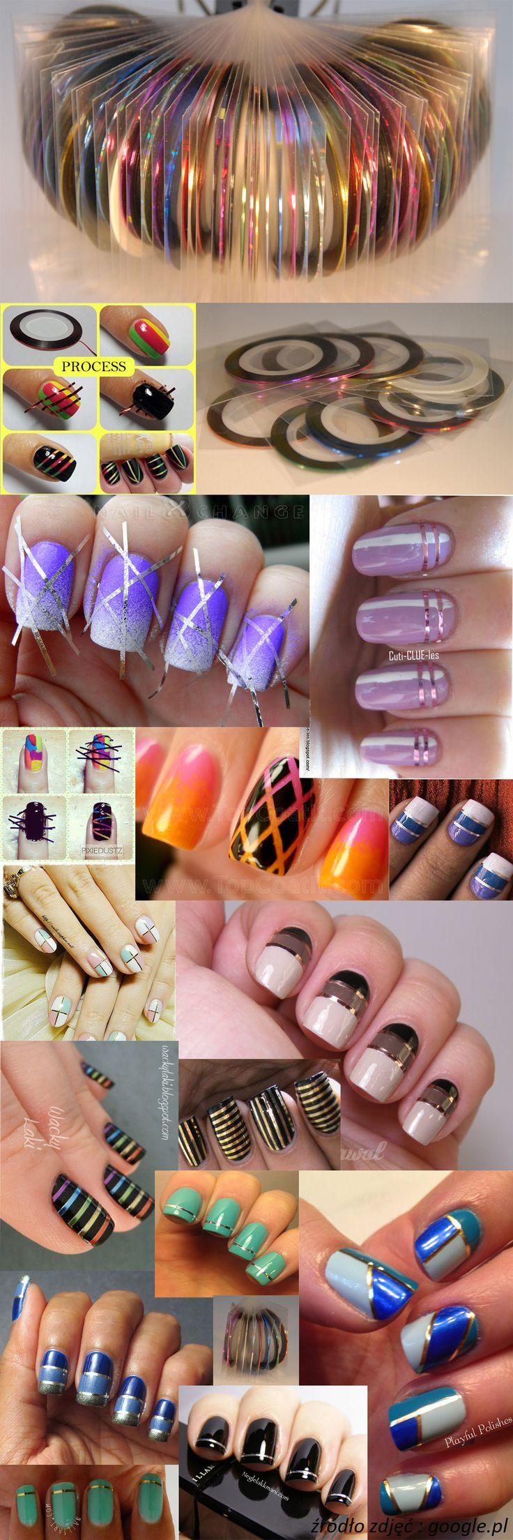 nails stripe