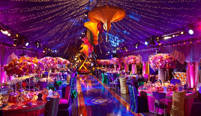 OH MY GOSH!!! I am in love with this. My wedding is going to be just like this, I do not care how much it will cost!!! I love the movie Aladdin and this reminds me of it so much!!!