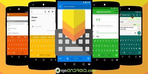 Chrooma Keyboard es la nueva aplicación de moda para dispositivos Android, es un teclado muy ligero y versátil y que tiene la particularidad de cambiar de color en cada aplicación que usas.