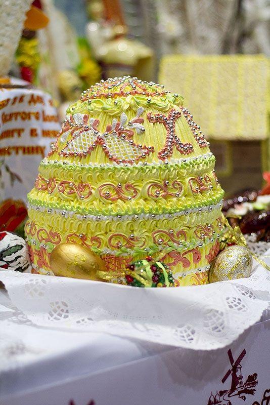 Пасхальный кулич-2012