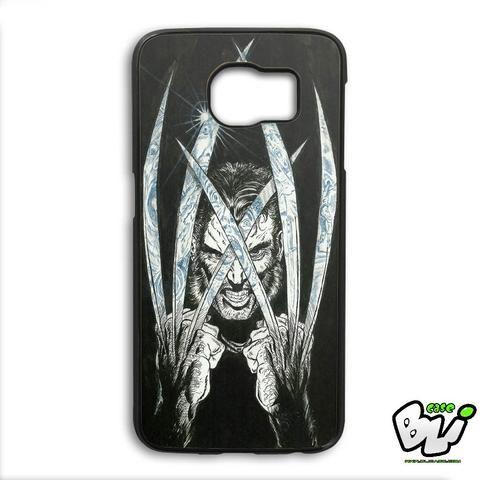 Wolverine Art Design Samsung Galaxy S6 Edge Plus Case