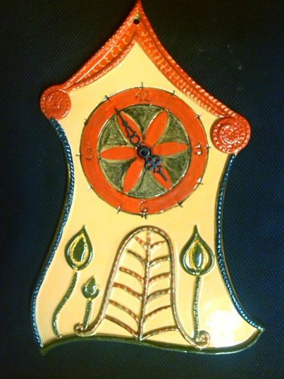 Meseváros falióra / Wall clock from tale city