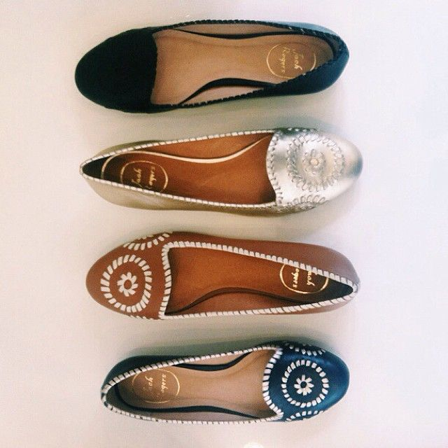 jackrogersusa:  No tricks here, just treats. Shop new arrivals, including our Waverly flat, on jackrogersusa.com.