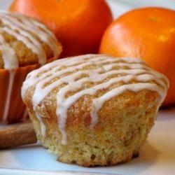 Carrot Cake Muffins with Cinnamon Glaze Allrecipes.com