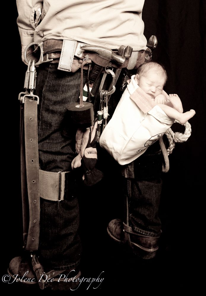 Lineman baby. Soooo darn cute! - This is happening if we procreate