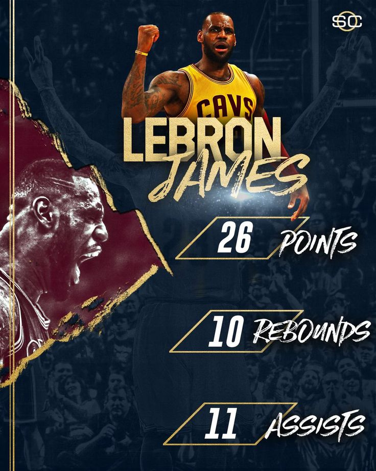 LeBron James records his 7th career NBA Finals triple-double, becoming the 3rd player to record one in Game 7.
